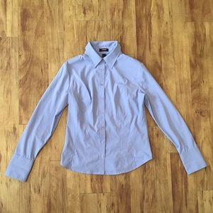 Express Stretch Button Down Shirt - Size 12